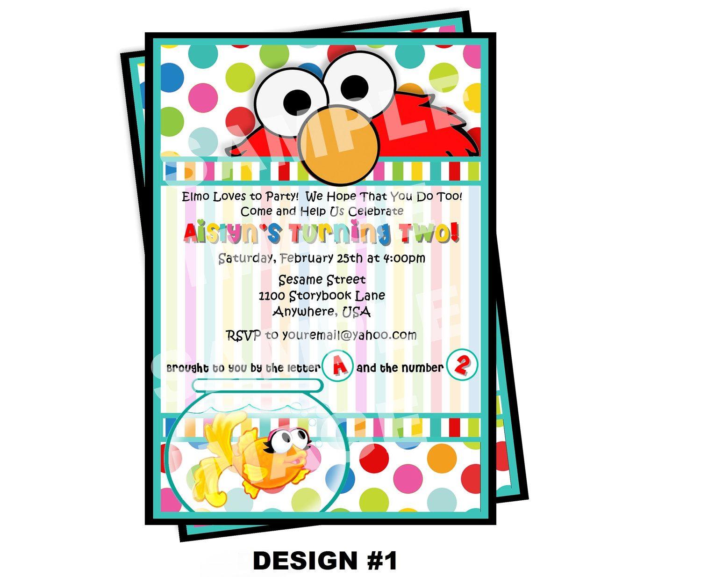 Invitation Sesame Street Invitation Template egreetings
