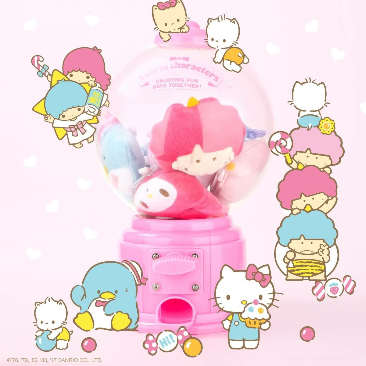 Sanrio gumball machine (^O^)
