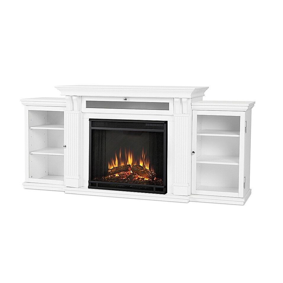 Real Flame Calie Electric Fireplace And Entertainment Center In