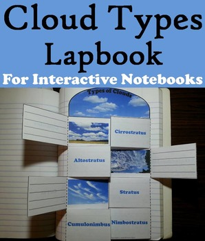Clouds This Clouds Lapbook Is A Fun Hands On Activity For Students To Use In Their Interactive Notebooks Cloud Activities Earth And Space Science Weather Unit