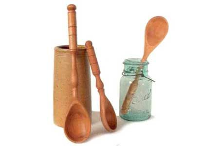 Whetstone Woodenware spoons, ladles, serving tools hand