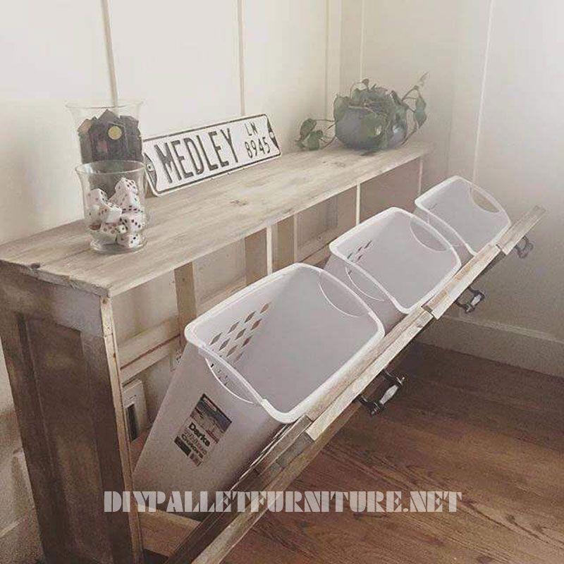 d chets syst me de tri avec des palettes tri systeme et le recyclage. Black Bedroom Furniture Sets. Home Design Ideas