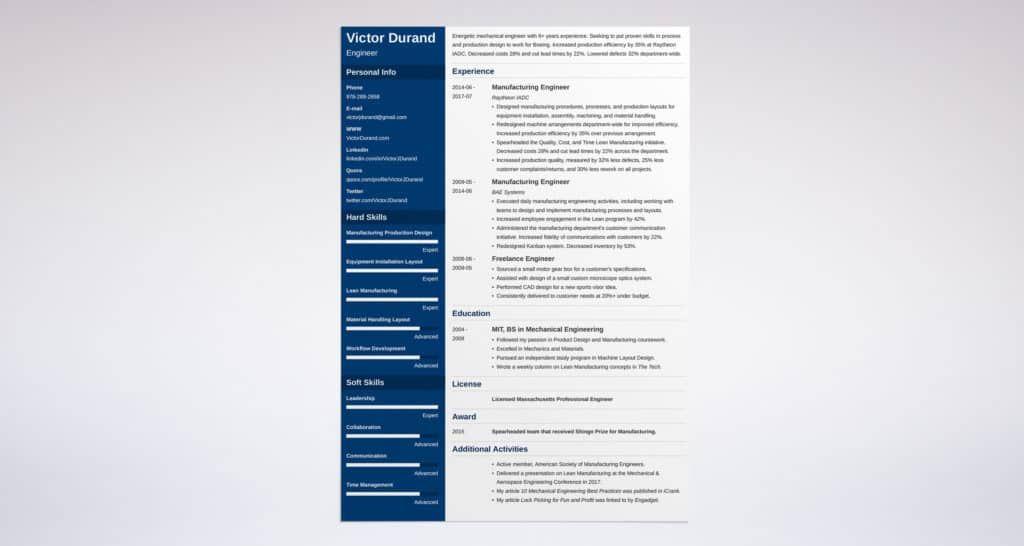 zety resume for free