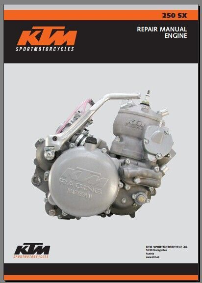 2003 Ktm 250 Sx Service Repair Manual Pdf Download