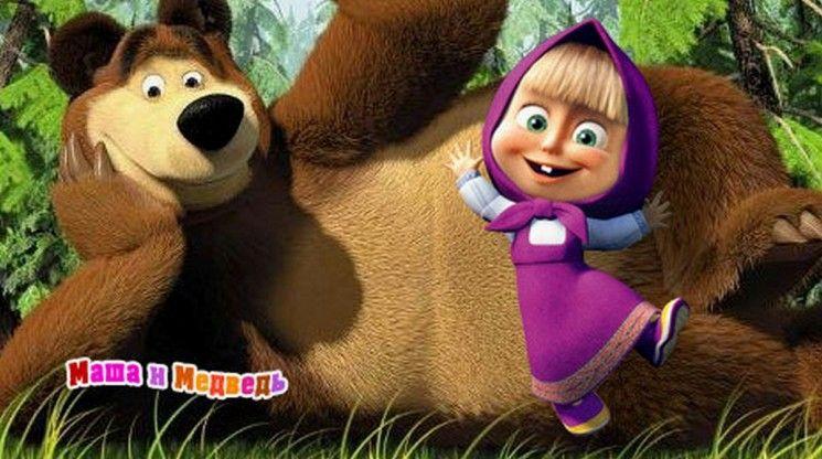 Cartoni animati masha e l orso y el oso pinterest