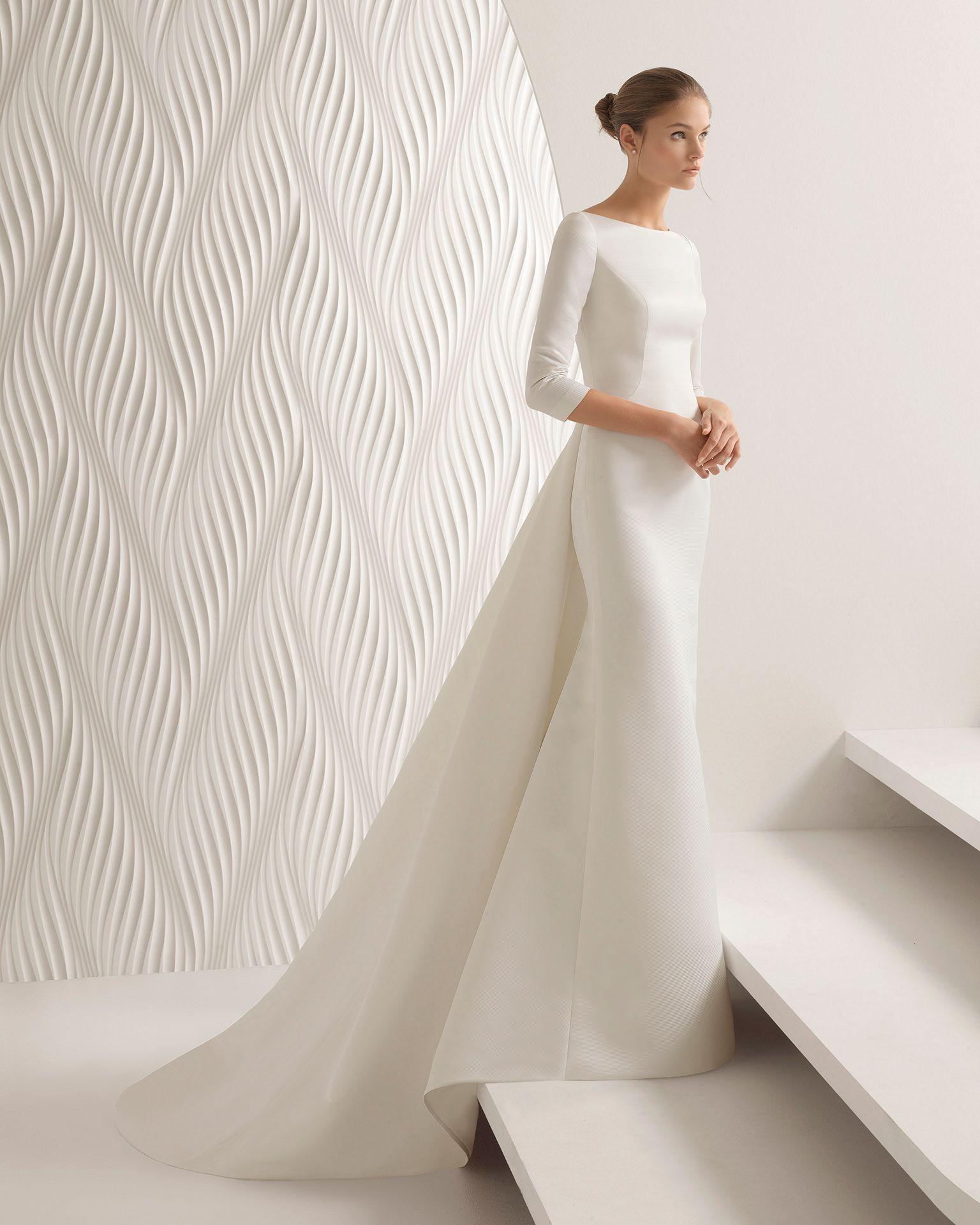 Aster 2018 Bridal Collection Rosa Clara Collection Minimal