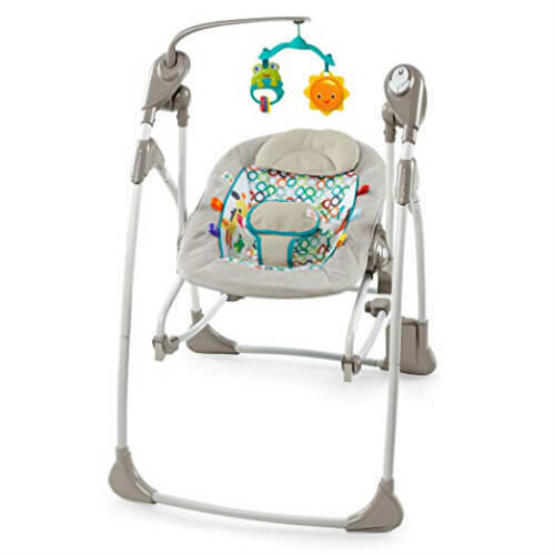 Bright Starts Rocking chair and swing Baby swings, Baby