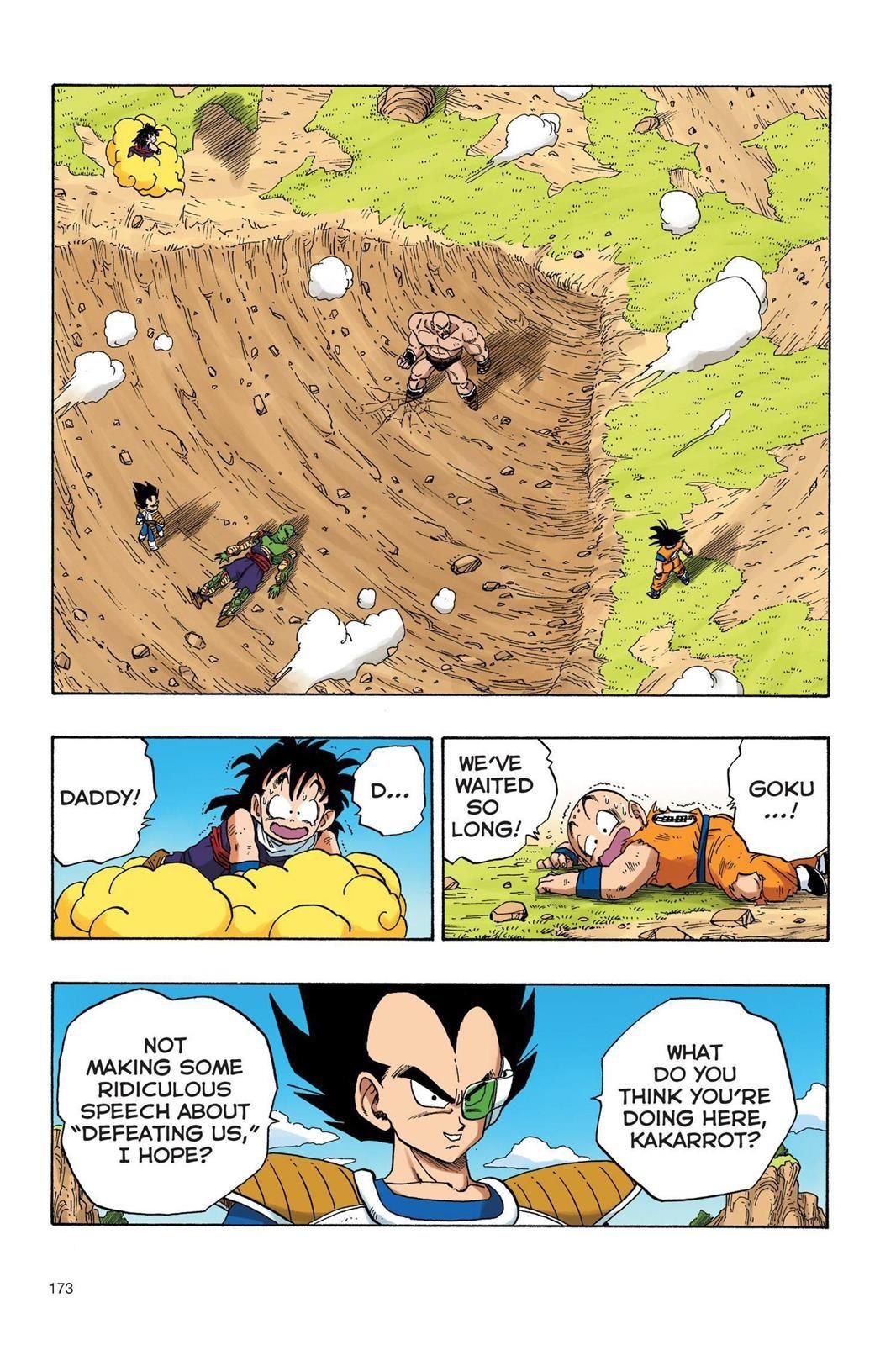 Dragon ball full color saiyan arc chapter 30 page 2