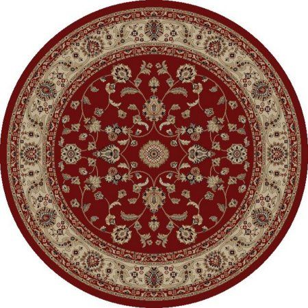 Concord Global Trading Jewel Collections Marash Area Rug, Red