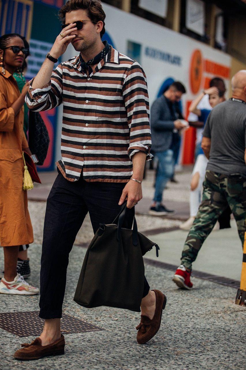 Pitti Uomo Street Style Primavera Estate 2019