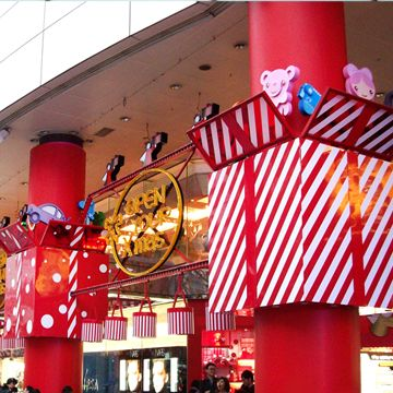 christmas stage decoration | Christmas Decorations for SOGO ...