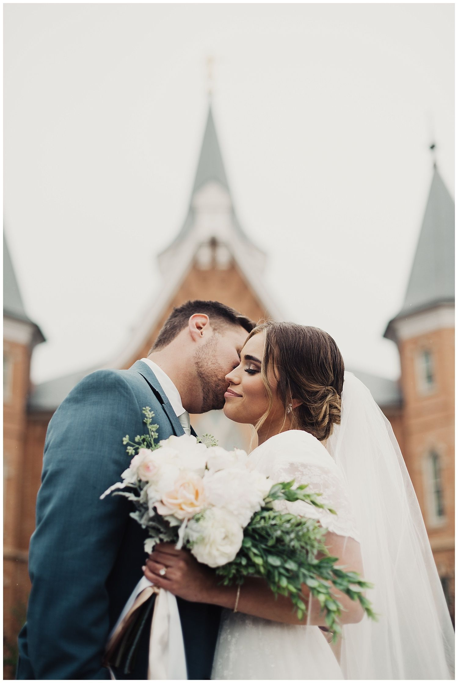 Aly and Matt, Provo Wedding at Provo City Center Temple and The ...