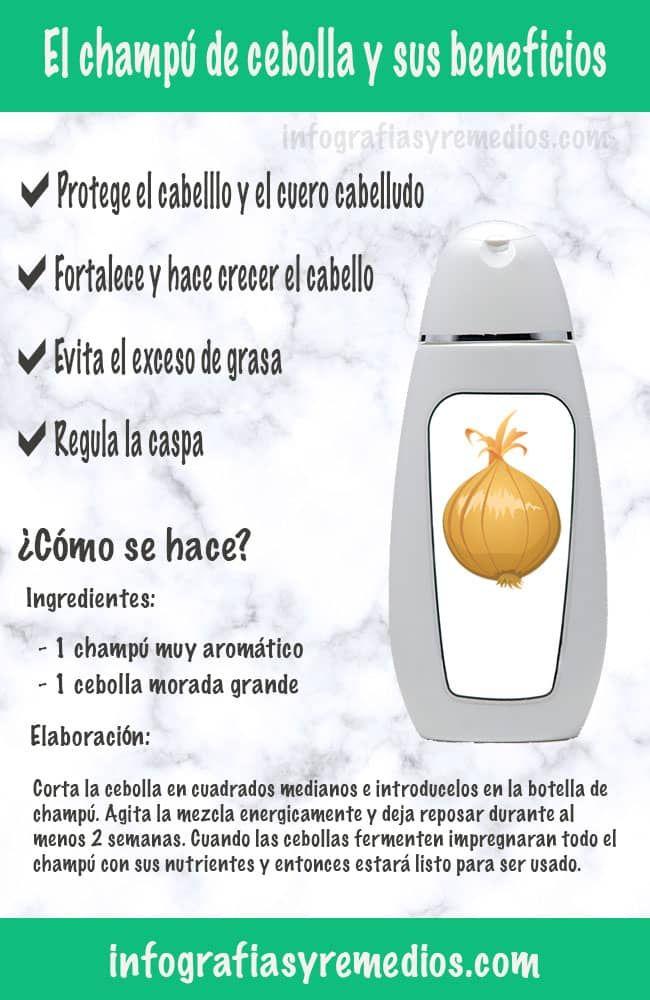 El champú de cebolla y sus propiedades ¿Casero o comprado