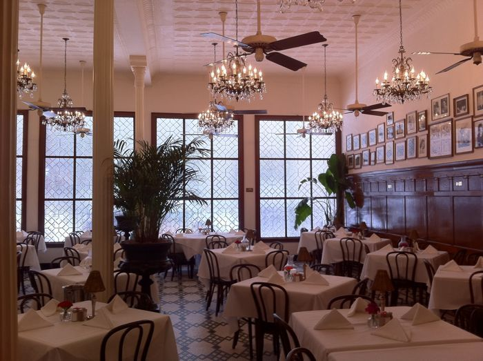 Arnaudu0027s Main Dining Room, New Orleans   Look At Those Floors! Everything  Glitters At