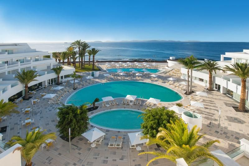 The Iberostar Lanzarote Park Apartments are located in a ...