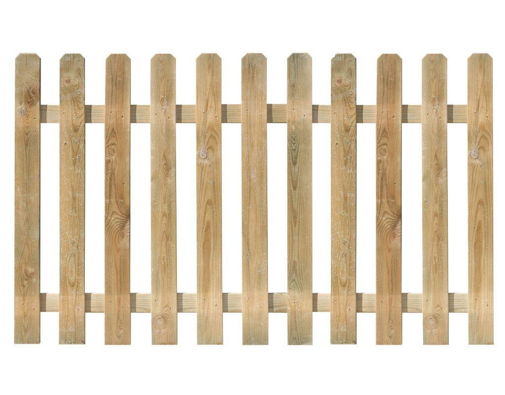 Vorgartenzaun Mustang kdi Dieser Zaun aus Waldkiefer bildet einen