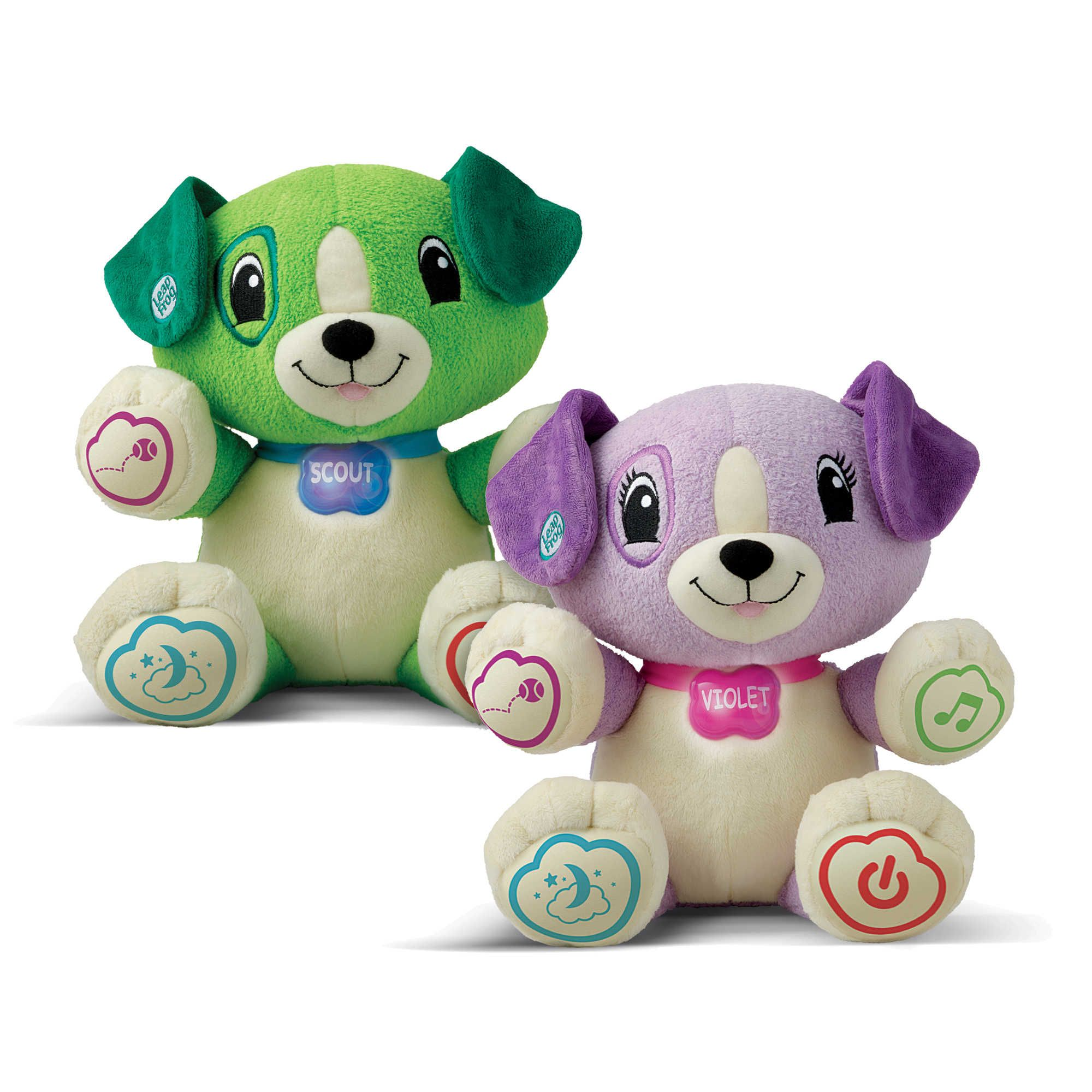LeapFrog My Pal Scout or My Pal Violet Personalized Plush