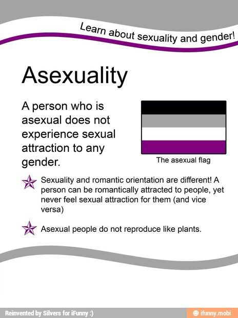 Sexual orientation test asexual plants