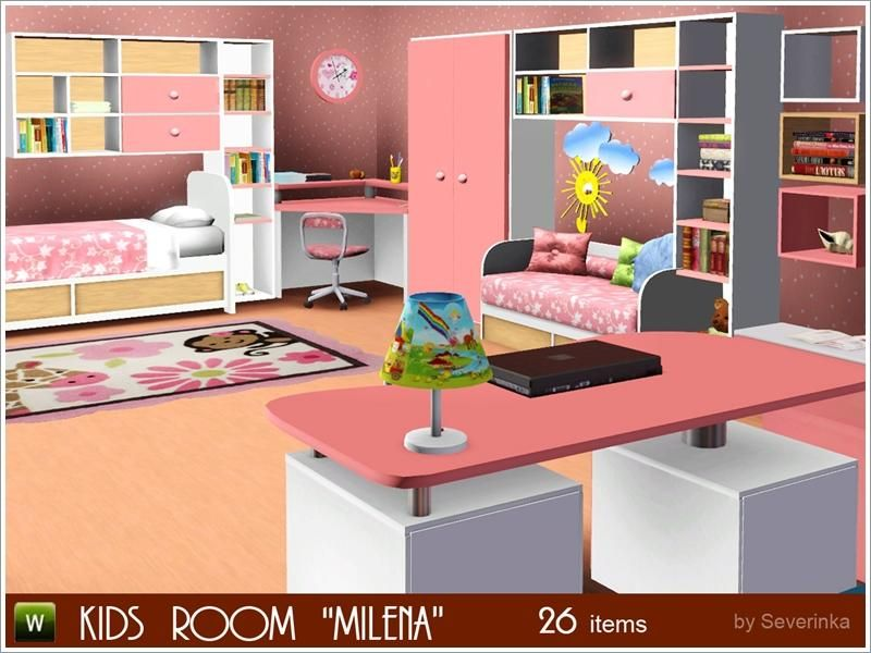 Severinka_\'s Kids room \'Milena\' | Sims 3 Stuff | Pinterest | Sims