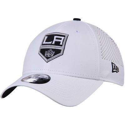 Los Angeles Kings New Era Perforated Pivot 9FORTY Adjustable Hat - White 92de1c4d3707