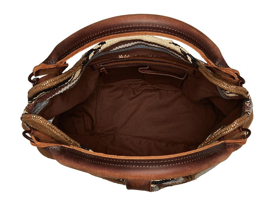 ca8c2348f770 STS Ranchwear Serape Slouch Bag Bags Olive Serape Tornado Brown ...