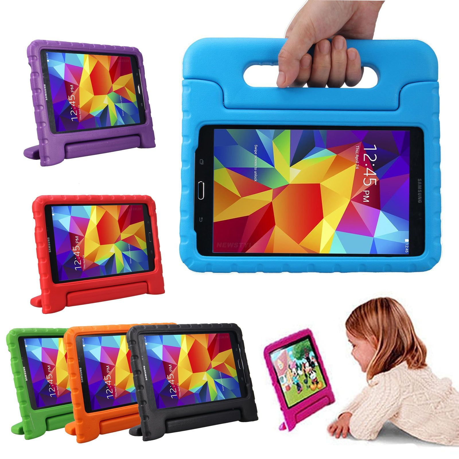 Samsung Galaxy Kiddie Kids Foam Case Shockproof Back Cover