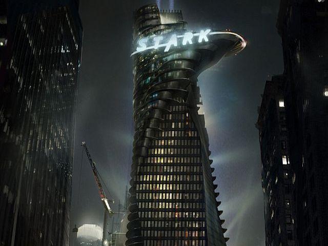 Tony Stark Tower In NewYork