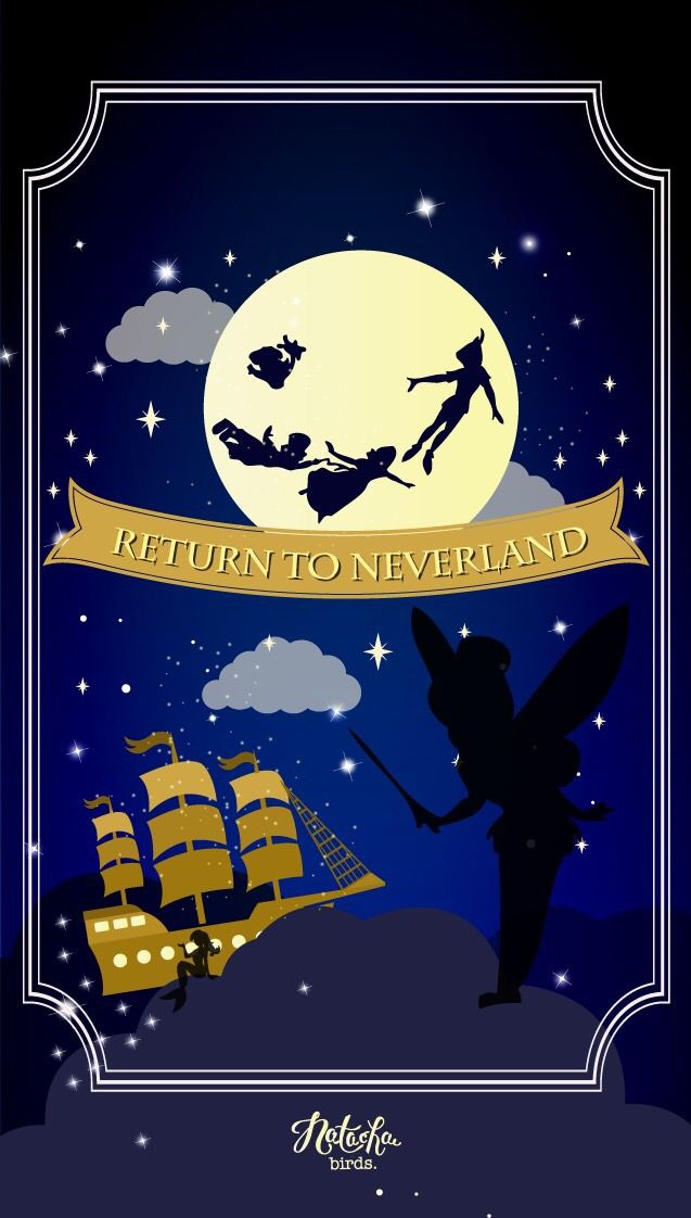 Disney Peter Pan Wallpaper Iphone
