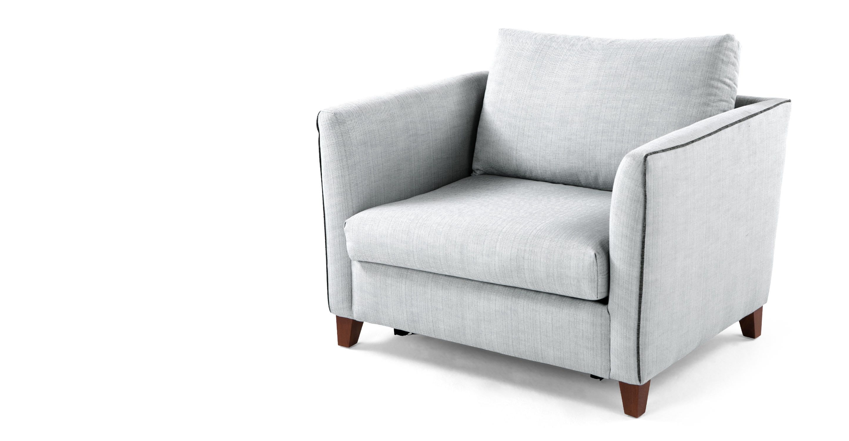 Bari Snuggler Sofa Bed Malva Blue Grey