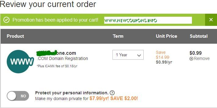Only 0 99 Com Domain At Godaddy 2014 Domain Domain Registration How To Apply