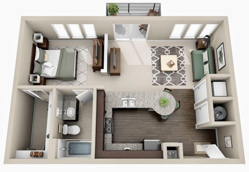 Planos de apartamentos de 50 metros cuadrados christmas for Diseno de apartamentos de 50 metros cuadrados