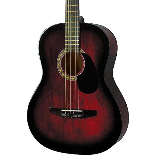 "news Rogue Starter Acoustic Guitar Red Burst   buy now     $59.99 The small-bodied Rogue Starter Acoustic Guitar is an amazing deal for a starter guitar. Its smaller profile (7/8"" scale) makes... http://showbizmusic.com/rogue-starter-acoustic-guitar-red-burst/"