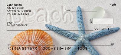 Beachy Blue Personal Checks - 1