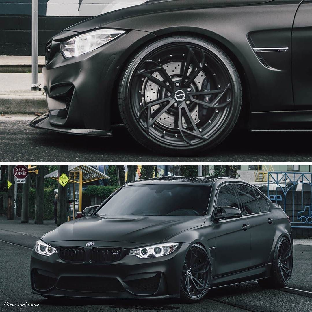 Blacked Out Bmw F80 M3 On Brixtonforged Pf1 Duo Series Wheels