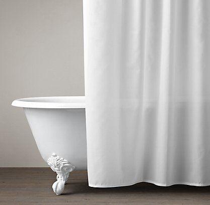 Shower Curtains By Restoration Hardware Hotel Shower Curtain