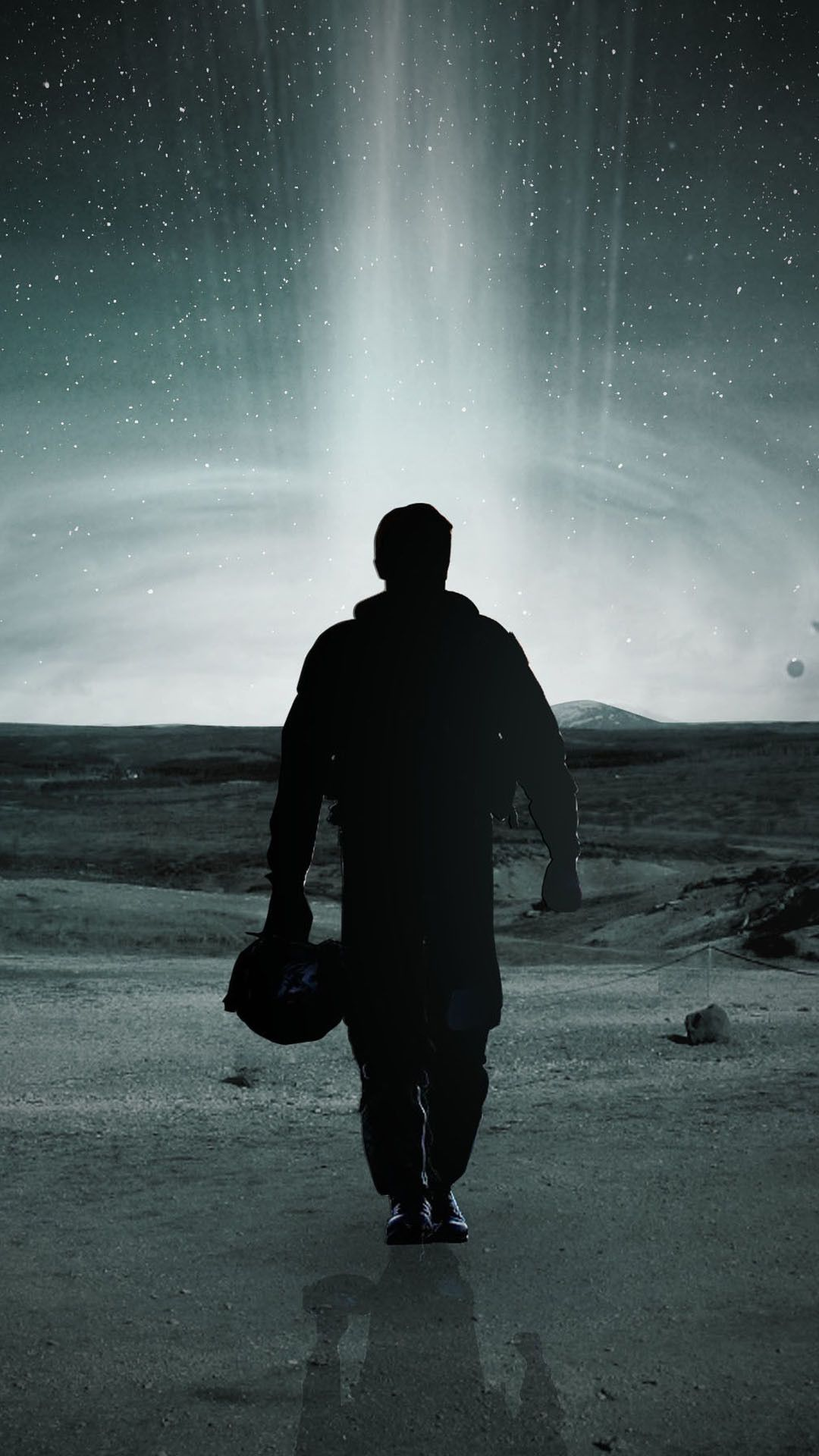 interstellar man space android wallpaper free download
