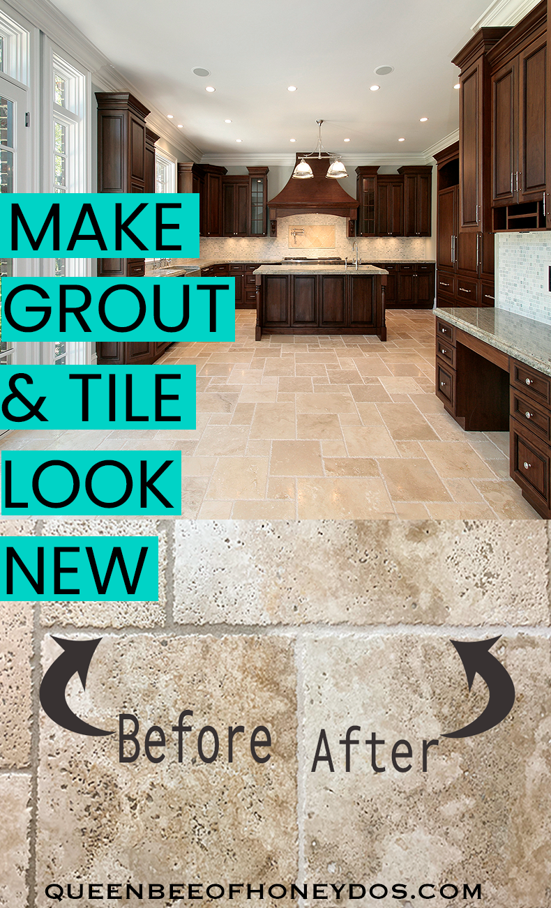 Make Grout And Tile Look Like New Tiles Clean