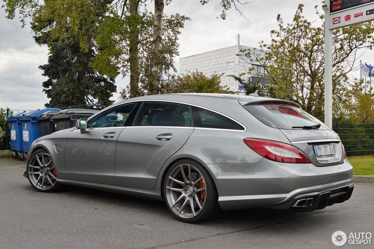 Mercedes Benz Renntech Cls 63 Amg Shooting Brake 1 Shooting