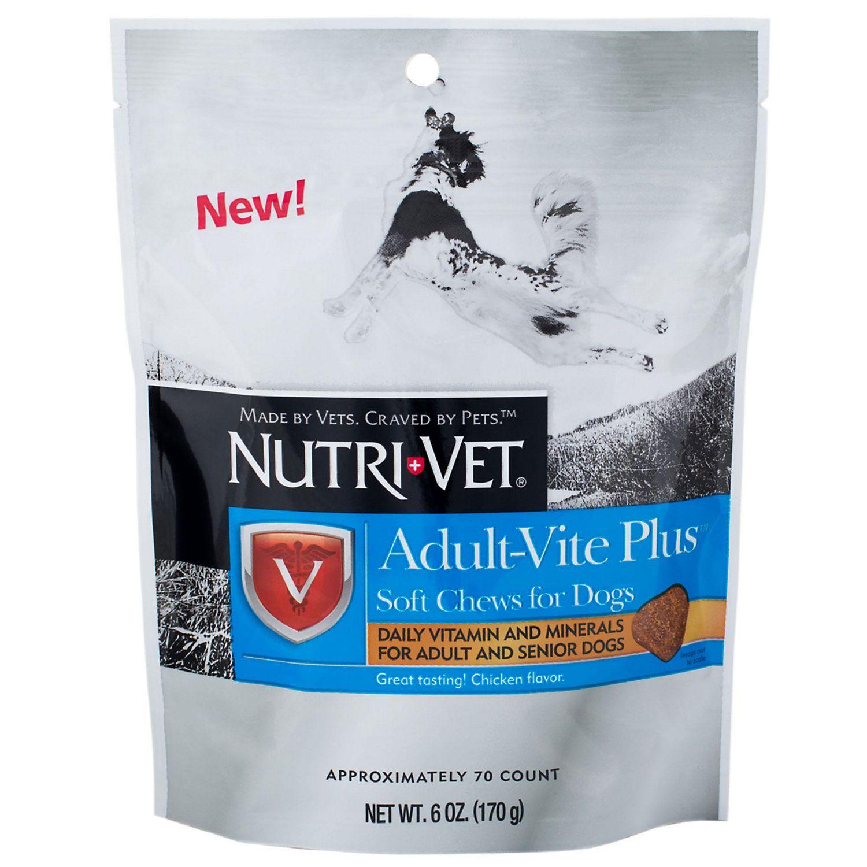 NutriVet AdultVite Plus Soft Chews, 6oz in 2019 Dogs