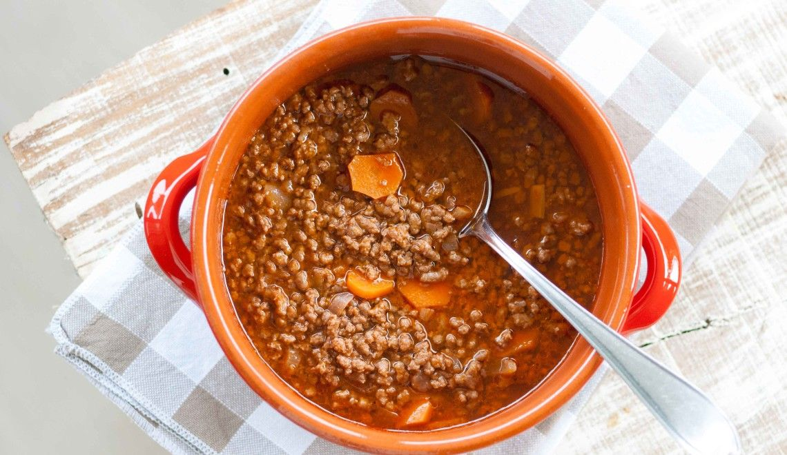Photo of Stewed minced meat – A little witch in the kitchen