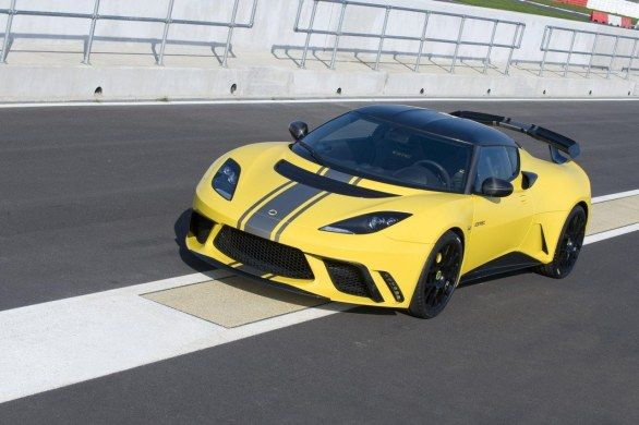 Lotus Evora GTE Kimi Raikkonen
