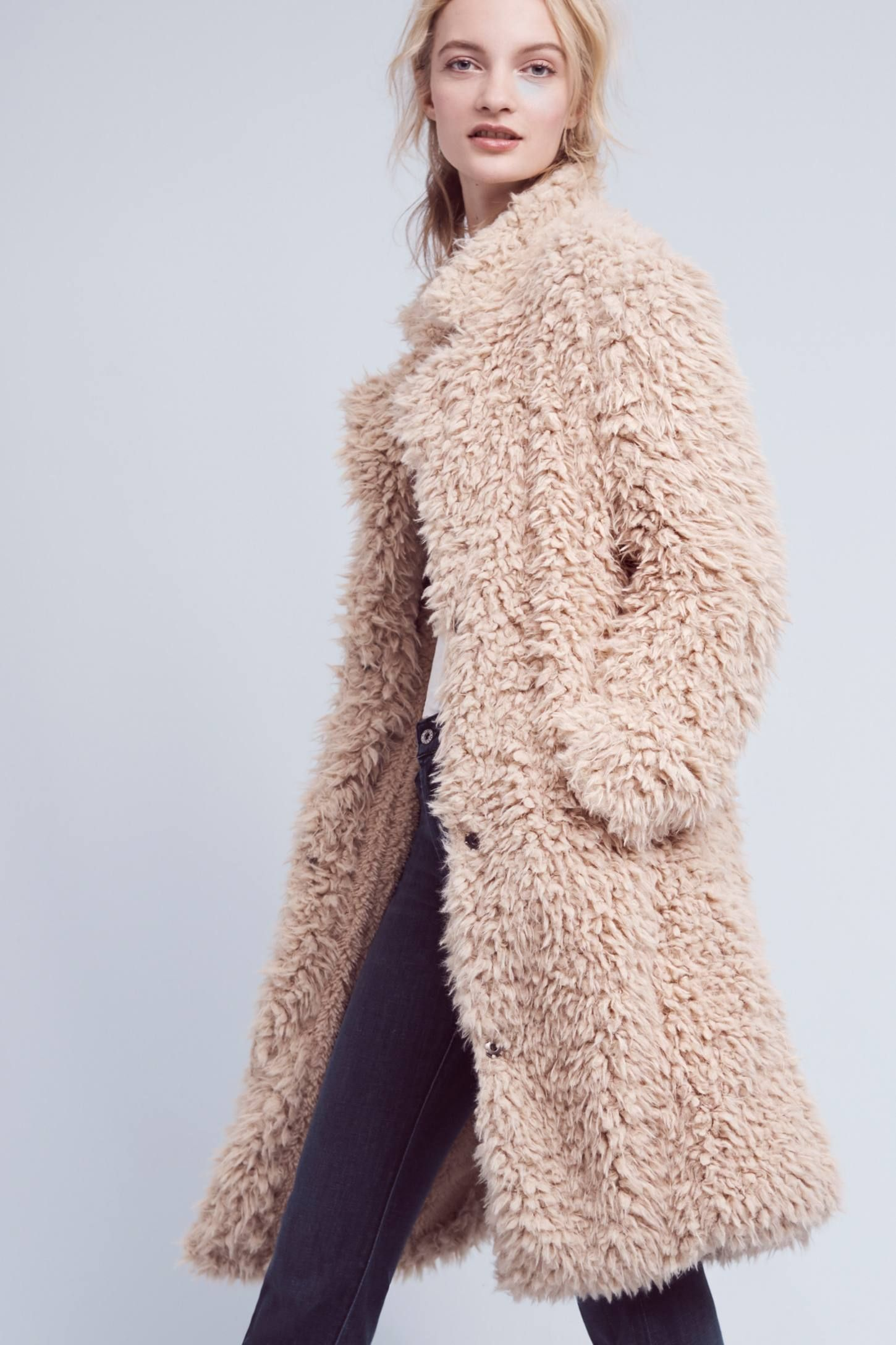 Avey Sherpa Coat | Your Anthropologie Favorites | Pinterest ...
