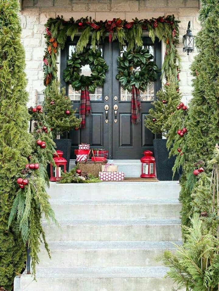 57 Beautiful Outdoor Christmas Decorations   Christmas ...