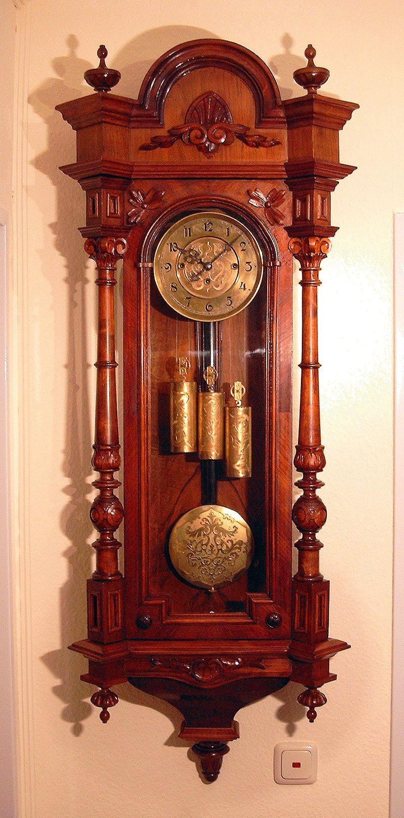 GB-3-Gew-Pendeluhr (Luekk) - Pendulum clock - Wikipedia | Antique ...