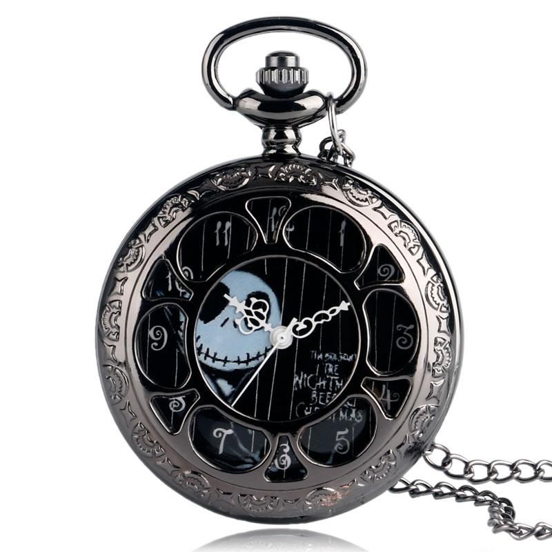 Cool Nightmare Before Christmas Gifts: Cool Quartz Pocket Watch The Nightmare Before Christmas