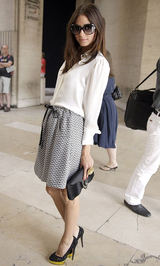 Olivia Palermo. She can be a bitch, but I totally respect her style.. <3