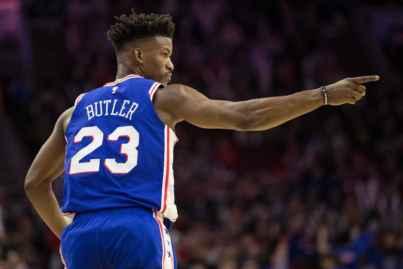 Jimmy Butler and Joel Embiid are petty goals after