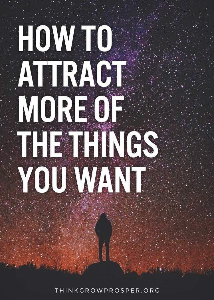 More Space More Attention More Success >> How To Attract More Of The Things You Want Success