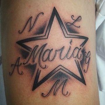 Disenos Originales Tatuajes Con El Nombre Maria Tatuajes Disenos De Unas Alas Tatuaje