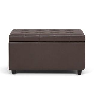 Incredible Wyndenhall Essex 34 Inch Wide Contemporary Storage Ottoman Uwap Interior Chair Design Uwaporg
